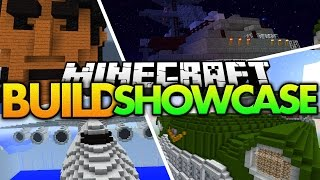"Minecraft Build Showcase | ""MASSIVE STRUCTURES!"" (Giant Room, Car, Airplane, Ship) Minecraft Builds"