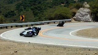 10. Yamaha R6 Lowside Crash 7/15/2012