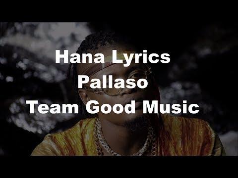Pallaso - Hana [Lyrics Music Video 2018] Full HD