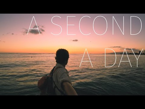 Around the World in 200 Seconds - A Second a Day