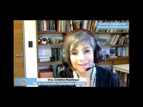 Gestión integral de envases postconsumo - Dra. Cristina Maiztegui