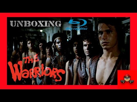 Unboxing The Warriors Ultimate Director's Cut Blu Ray HD 1080P