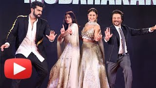 Watch Anil Kapoor's energetic dance with Arjun Kapoor, Ileana D Cruz and Athiya Shetty at Mubarakan Sangeet Event.Report By: Neha AntaniEdited By: Advait PansareCameraman: Deepak Prajapati.Subscribe now and watch for more of Bollywood Entertainment Videos at http://www.youtube.com/subscription_center?add_user=bollywoodnowRegular Facebook Updates https://www.facebook.com/bollywoodnow.  Twitter Updates https://twitter.com/bollywoodnow  Follow us on Pinterest: https://pinterest.com/bollywoodnow  Follow us on Google+ : https://plus.google.com/+bollywoodnow