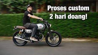 Custom Kawasaki W175, Modal Di Bawah 10 Juta!