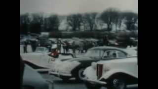 1954 Winter Carnival Ice Racing!