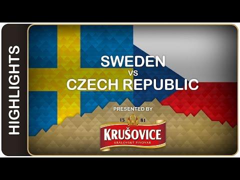 MS: 3. zápas: ČR - Švédsko