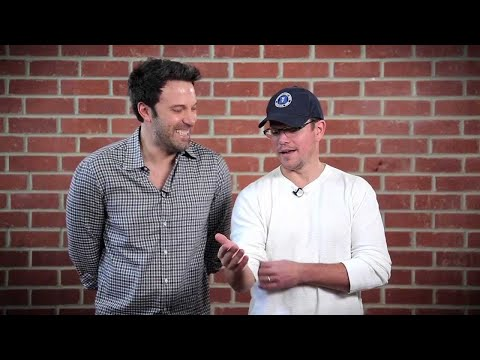 Damon and Affleck hilariously take shots at each other for charity