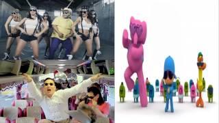 Gangnam Style Psy, Don Cheto and Pocoyo DJ IVAN