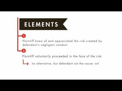 Tort Law tutorial: Assumption of the Risk | quimbee.com
