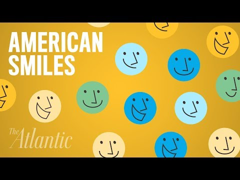 Why Do Americans Smile So Much? (видео)