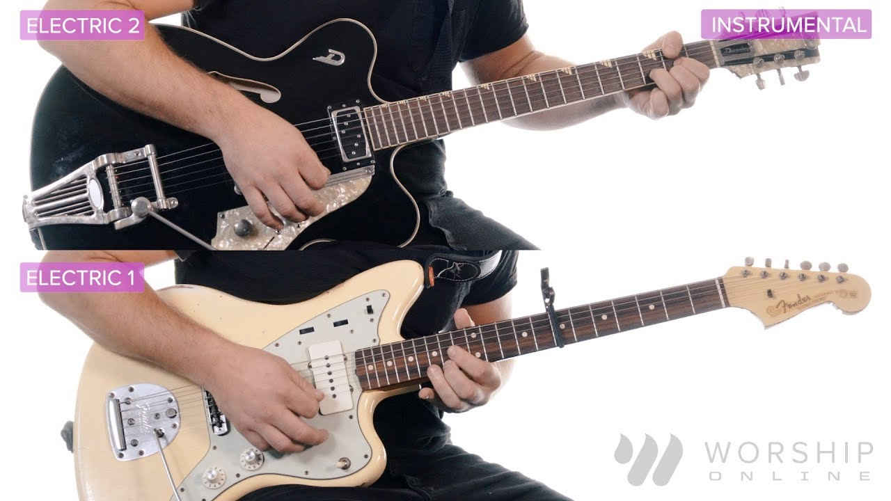 O Holy Night – Hillsong Worship – Electric Guitar Tutorial