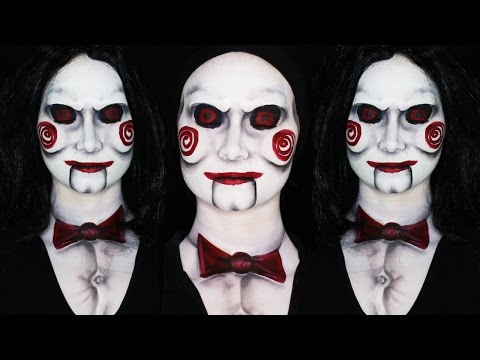 Billy - Jigsaw Saw Makeup Tutorial | LATEX FREE (CC)