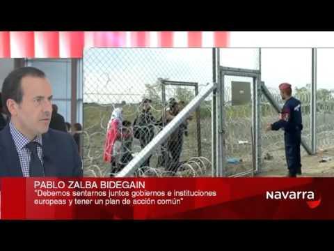 Pablo Zalba, en 'Cara a Cara' de Navarra Televisión