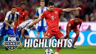 Bayern Munich vs. Hertha BSC Berlin | 2019 Bundesliga Highlights