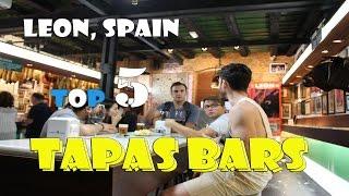 Leon Spain  city pictures gallery : DYETravel - Leon Spain - Top Five Tapas Bars