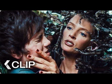 Medusa's Garden Movie Clip - Percy Jackson & The Olympians (2010)