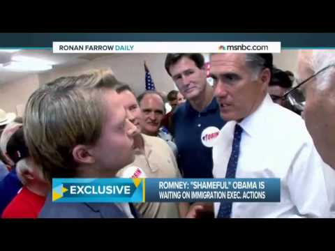 """romney - Former GOP presidential candidate Mitt Romney had some harsh words for President Obama's plan to """"unilaterally"""" grant amnesty to immigrants after the 2014 midterm elections. """"[It is]..."""