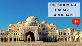 Video PRESIDENTIAL PALACE ABUDHABI - QASR AL WATAN, MORE THAN JUST A PALACE MP3, 3GP, MP4, WEBM, AVI, FLV Agustus 2019