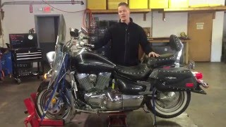 5. 2006 Suzuki Boulevard VL 1500 C90 (blk) 1542 Fallen Cycles Test Video