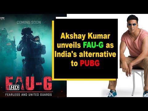 Akshay Kumar unveilsFAU-G