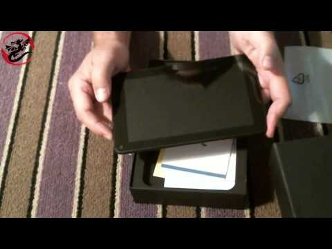 Dragon Touch K7 7in Quad Core IPS Screen tablet Unboxing Video