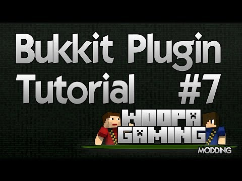 "Bukkit Plugin Tutorial #7 ""MySQL Database"" – WoopaGaming"