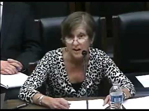 Anne Weismann Testifies on White House Transparency, Visitor Logs and Lobbyists