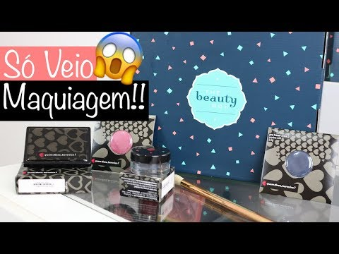 BOX DA BEAUTY - FEVEREIRO  SÓ MAQUIAGEM?!