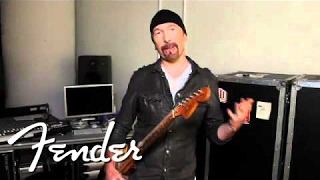 The Edge on the Telecaster