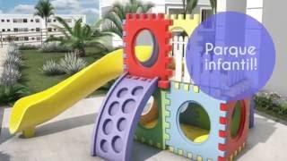 FICHA TÉCNICA Área Total do Terreno: 36.121,86m² Áreas de Uso Comum: Salão de Festas, Playground, Estação de Ginástica,...