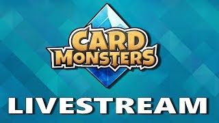 More PVP matches in this new CCG Card Monsters by MU77Subscribe for daily livestreams:  https://goo.gl/5ybthpmail:           brian@touchgameplay.comtwitter:        https://twitter.com/touchgameplayFacebook:  TouchgameplayCard Monsters is a fast-paced strategic card game. Enjoy challenging, and innovative gameplay with simple mechanics that allows for an intense duel!-Game FeaturesFast-paced BattlesDuel against other players and defeat them in 3 minutes or less!Diverse Variety of CardsWith daily quest rewards, arena rewards, tournaments, contests, giveaways and more, players can collect hundreds of cards with a variety of rarities and factions.Easy to Grasp MechanicsUse tactics and wits to masterfully defeat each opponent with mechanics picked up in minutes!Unique Equipment and ItemsCard Monsters is the first strategic card game with equipment skills for every monster. Optimize your items and equipment wisely to gain the upper hand in every duel.