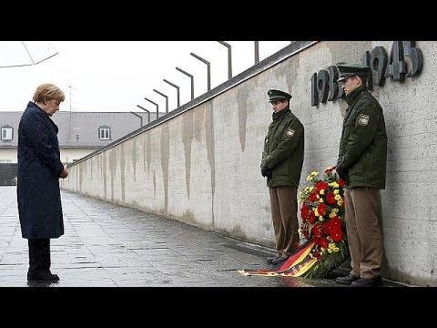 Merkel: Nazilerin bıraktığı acıları asla unutmayacağız