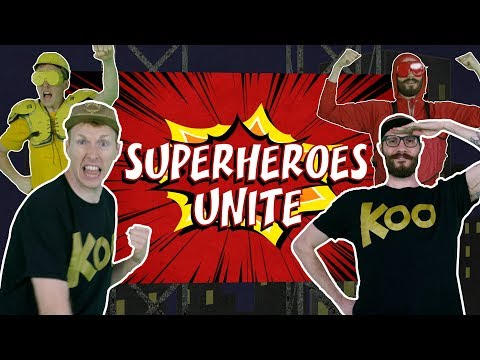 Koo Koo Kanga Roo - Superheroes Unite (Dance-A-Long)