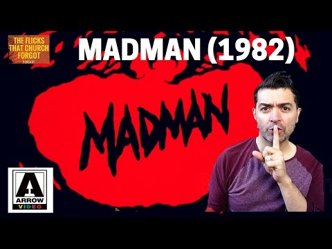 MADMAN (1982) Arrow Video Blu Ray, 2015, In Depth Review, Slasher
