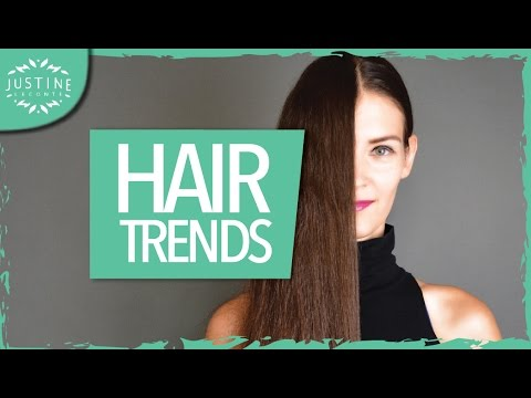Hair trends 2017: haircuts, hair colors, hair styling   Justine Leconte