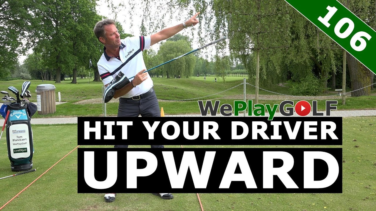 How to hit upward with your driver