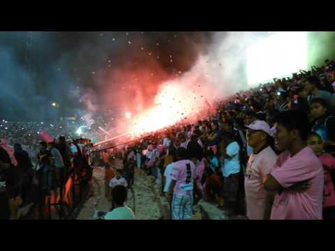 Noche rosada 2015 - Barra Popular Juventud Rosada - Sport Boys