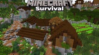 Minecraft 1.15 Survival : Building a Small Farming Village