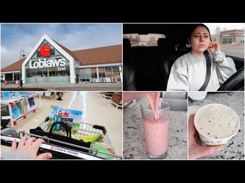 GROCERY SHOPPING + CAR CHIT CHAT + LOW CALORIE ICE CREAM + MORE