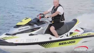 9. Sea-Doo RXT-X 300 Test 2016- By BoatTest.com