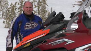 3. SnowTrax Explains Turbo Snowmobile Technology
