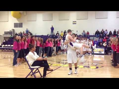 marry - tstiii Coach Barnhart asking his girlfriend to marry him! Special thanks to Necker Jewelers and Central Clinton De Witt student section for making this amaz...