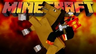 HUNGER GAMES HORSE! (Minecraft Hunger Games with Woofless and Preston!)