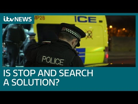 As Violent Crime Spikes By Nearly A Fifth In One Year, Is Stop And Search The Solution? | ITV News