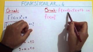 FONKSİYONLAR 4 - Şenol Hoca