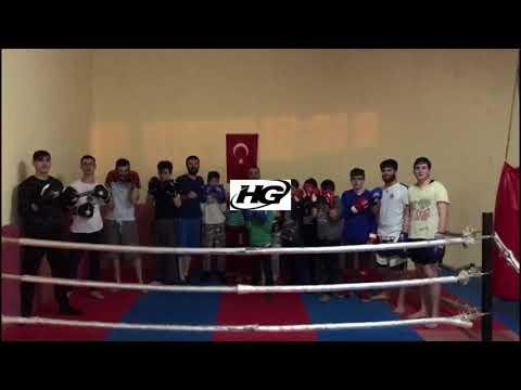 Pazar Kick Boks Kulübü'nden Mehmetçik'e Selam