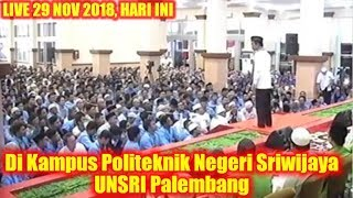 Video Ribuan Mahasiswa UNSRI PALEMBANG Tertawa Terus Dengar CERAMAH LUCU & CERDAS Ustadz Abdul Somad Lc.MA MP3, 3GP, MP4, WEBM, AVI, FLV Juni 2019