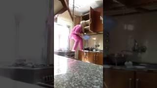 Очень влажная уборка кухни