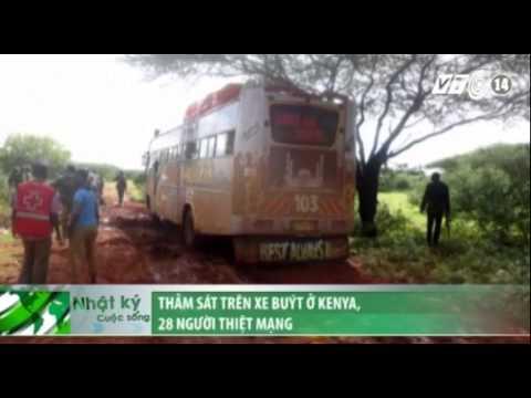 Thảm sát trên xe buýt ở Kenya, 28 người thiệt mạng