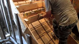 Изготовление бетонной лестницы. ч.5